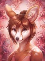 Blossom - SpeedPaint by GoldenDruid
