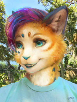 GoldenDruid Paint Over