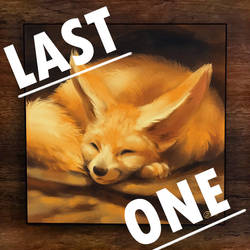 Napping Fennec - LAST ONE