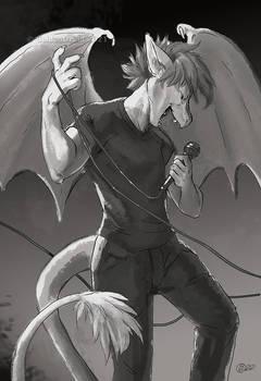 Singing Zephyr Sketch