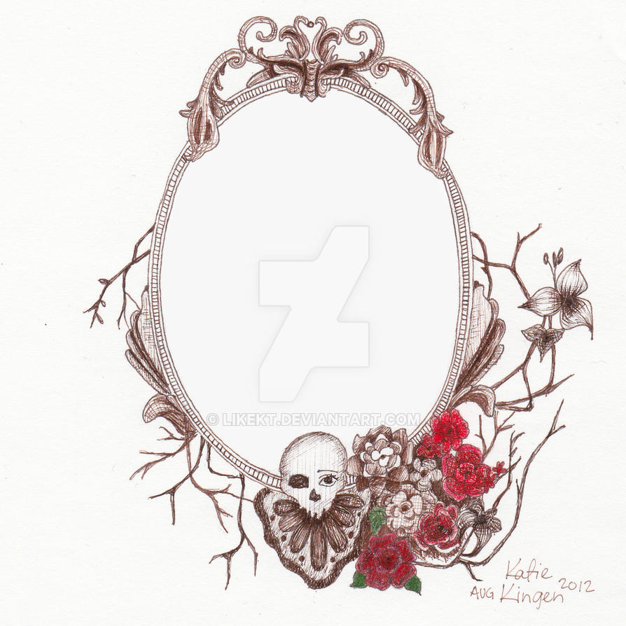 Vintage Frame Tattoo Design. by likekt on DeviantArt
