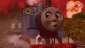 If Thomas escaped the blast in Sodor Fallout