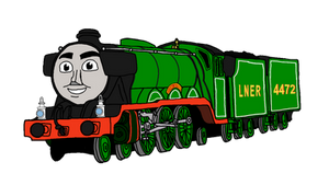 Updated Flying Scotsman PNG