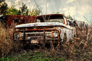 Left To Rust by AndrewCarrell1969