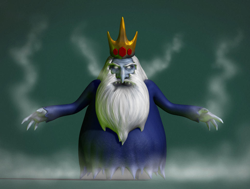 Ice King Adventure Time by nemesis222