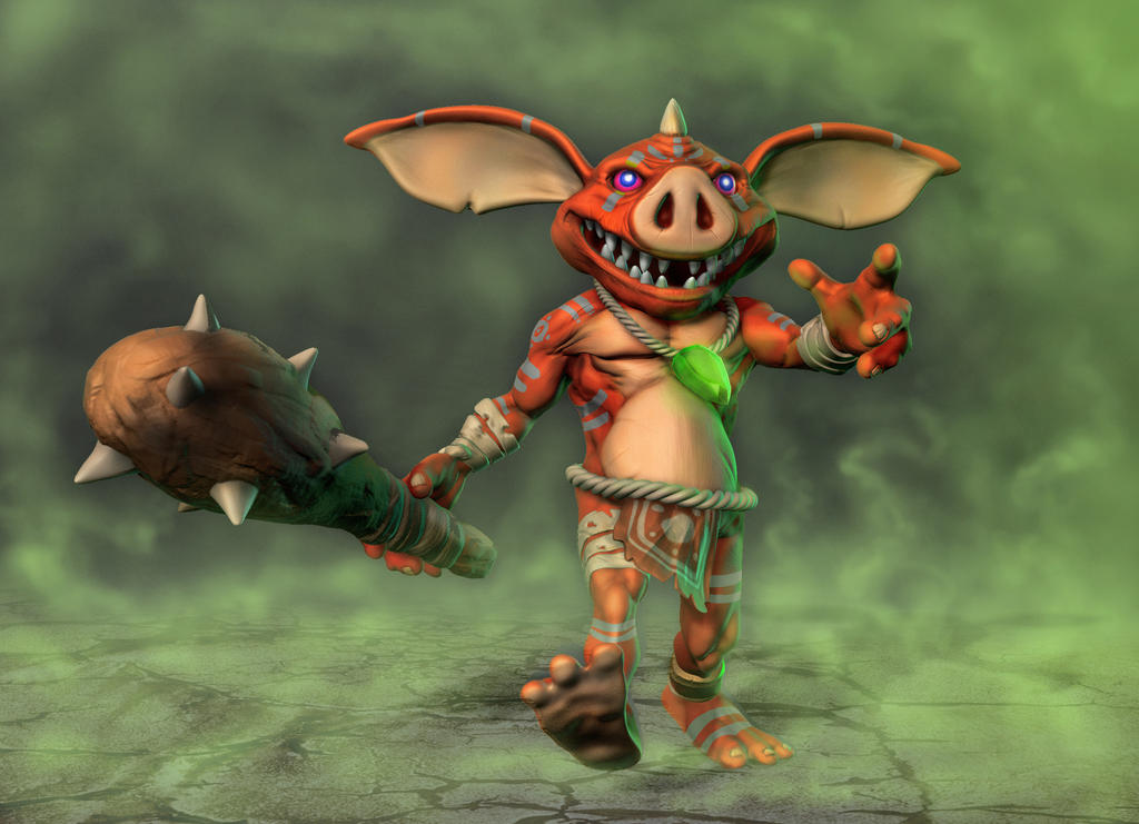 Bokoblin from breath of the wild by nemesis222