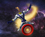 Earthworm Jim in the space