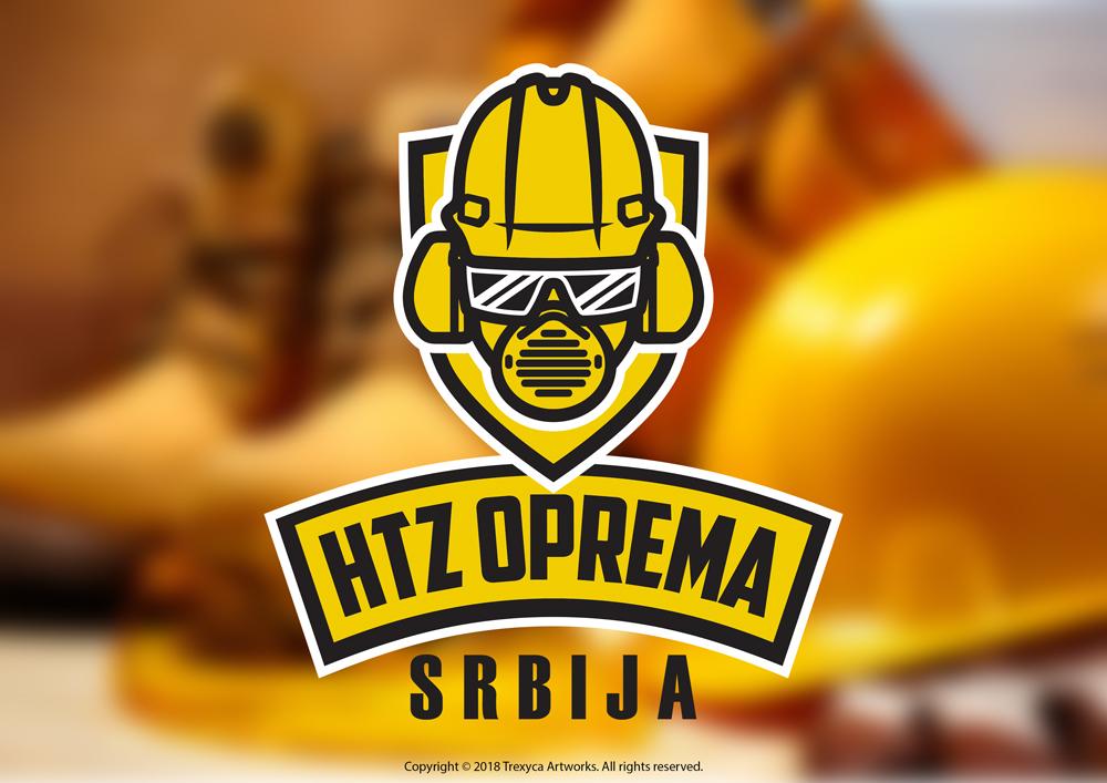 HTZ Oprema Srbija Logo by TrexycaArtworks