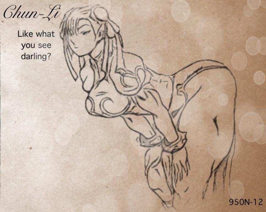 Sexy Chun-Li by P3ncils