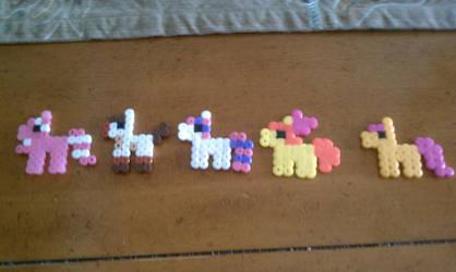 Pony Perler Bead Sprites Batch 2 by CassMutt