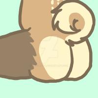 [YCH] Denali's Bum 3 by CassMutt