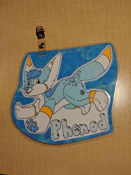 Pool Toy Phenod Full Body Badge