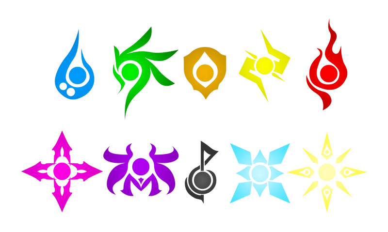 Tales Of Ylemia Element Symbols By Akivinz On Deviantart
