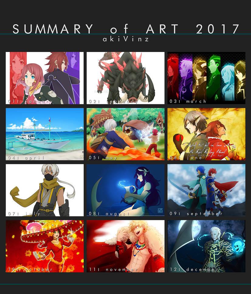 akiVinz' Summary Of Art 2017