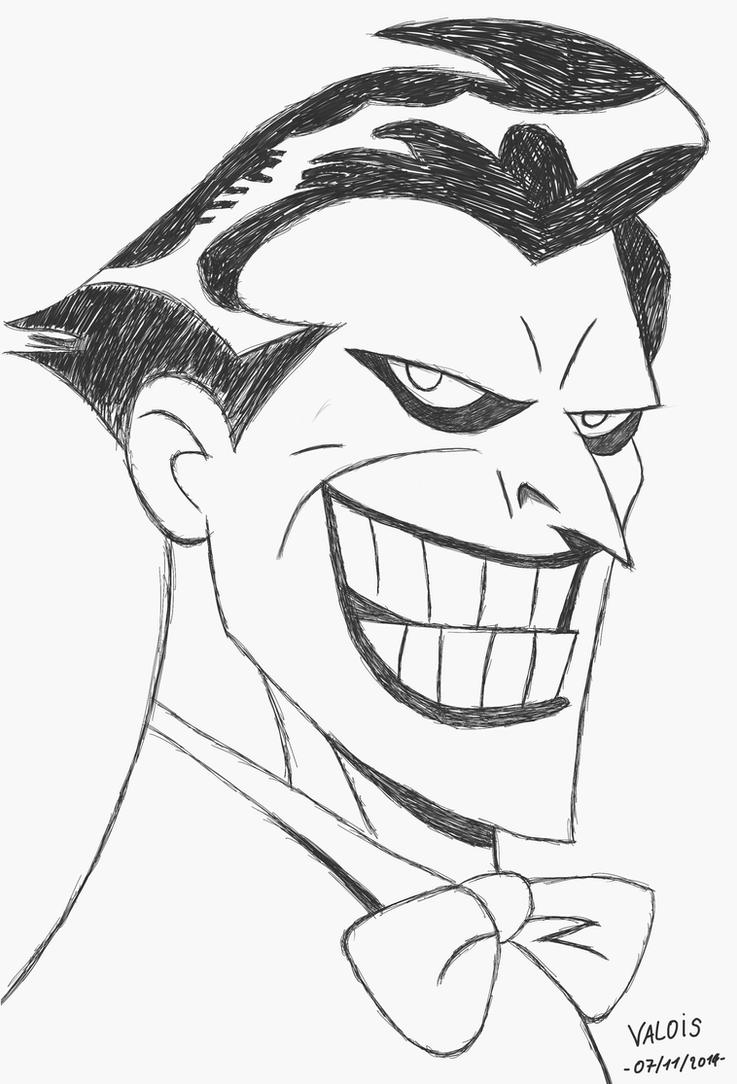 Joker (Batman : The Animated Series) by Gogeta-SSJ-4 on ...