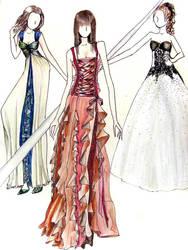 Dresses 2 by karmaela