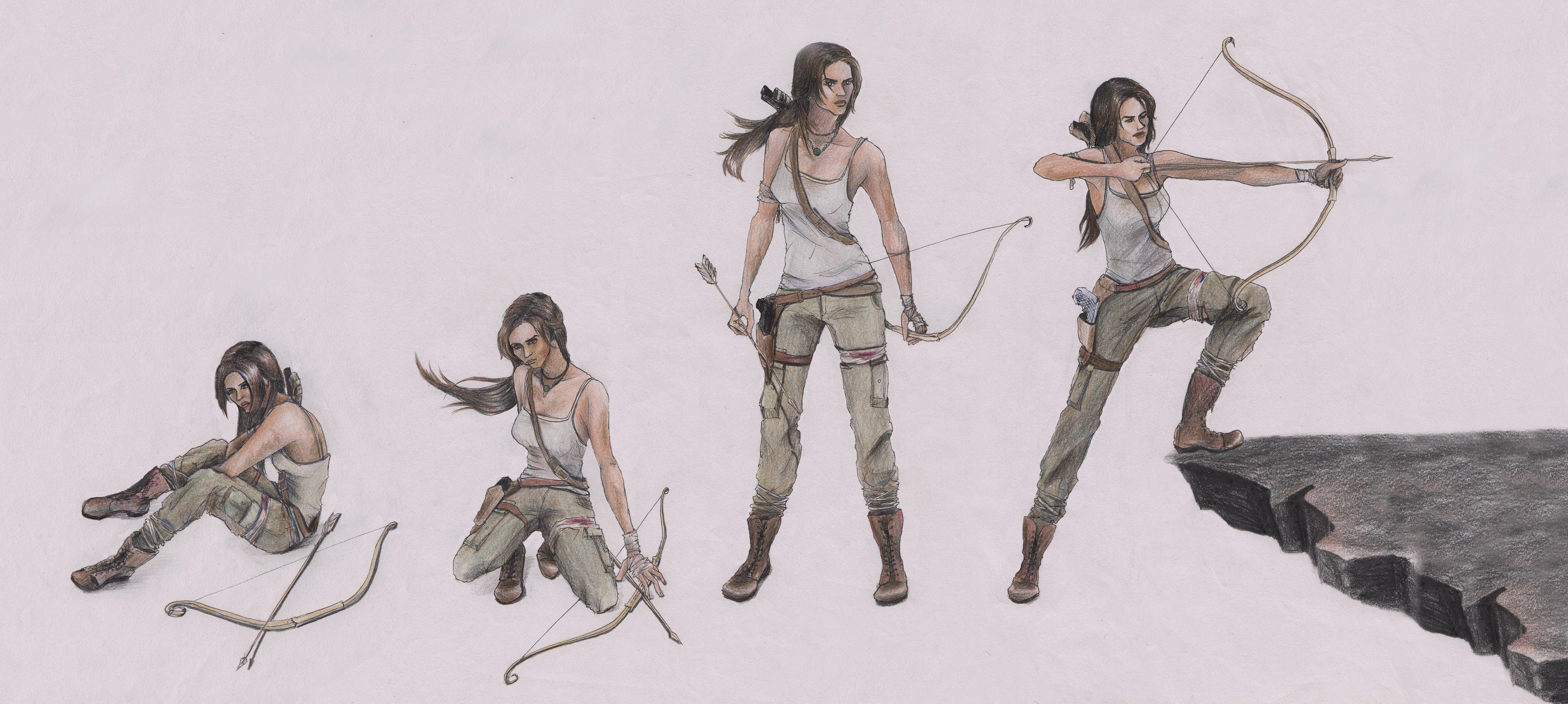 Tomb Raider by karmaela