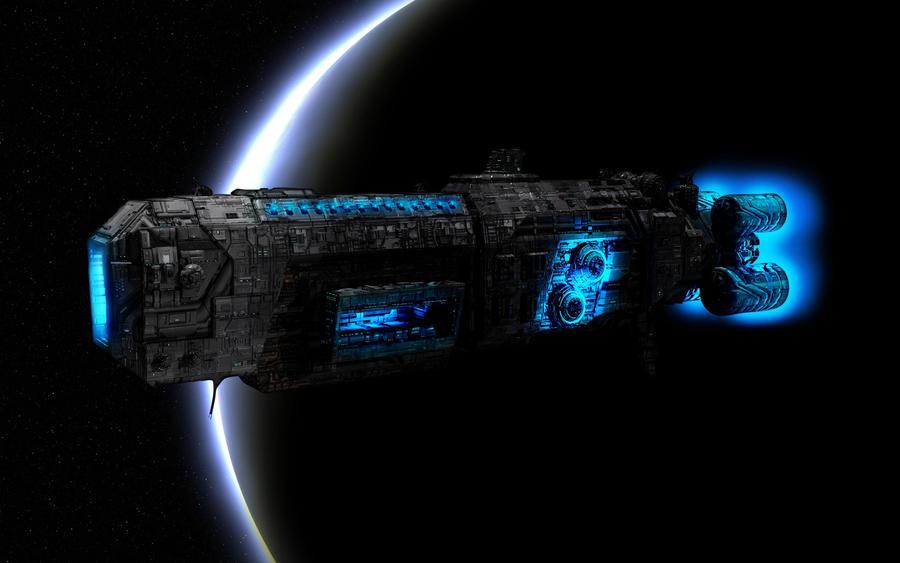 SPACE ship by Robin-safuddin