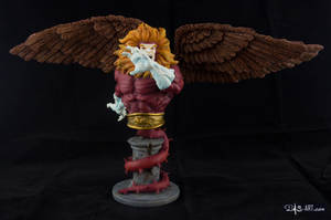 [Garage kit painting #09] Griffin bust - 001 by DasArt