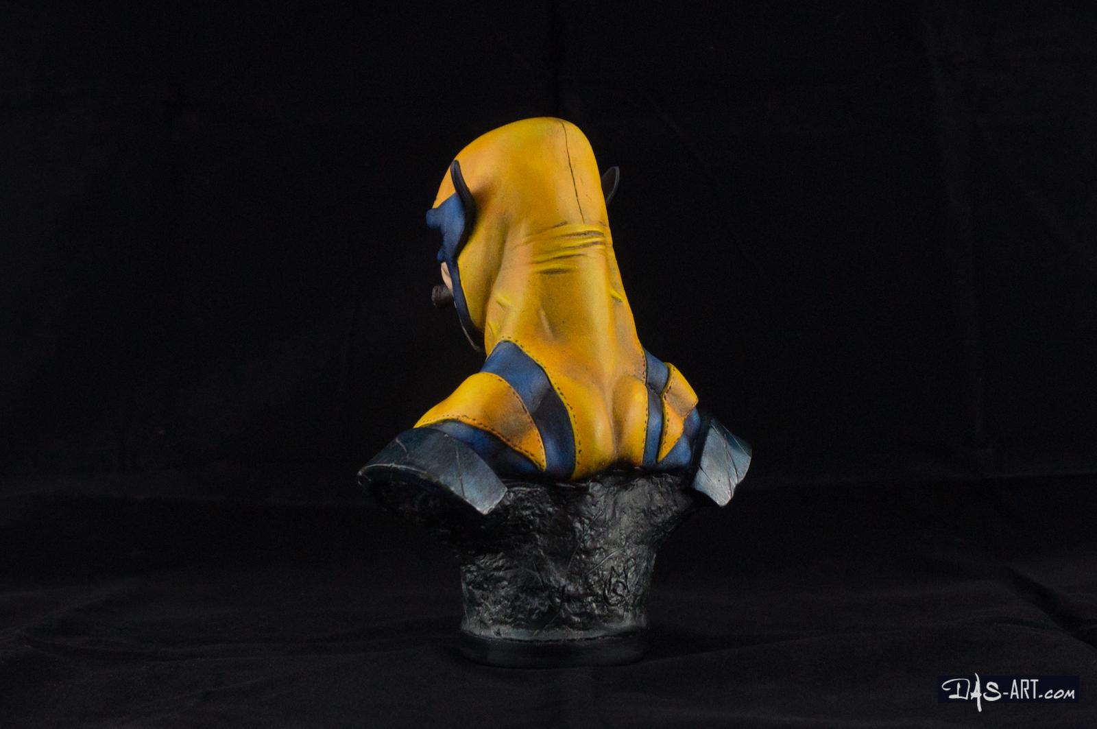 [GK painting #01] Wolverine bust - 004 by DasArt