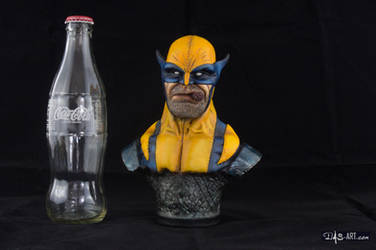 [GK painting #01] Wolverine bust - 014 by DasArt