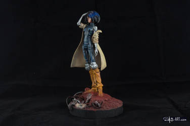 [Garage kit painting #02] Gally statue - 002 by DasArt