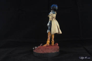 [Garage kit painting #02] Gally statue - 004 by DasArt