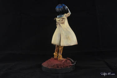 [Garage kit painting #02] Gally statue - 006 by DasArt