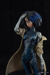 [Garage kit painting #02] Gally statue - 010 by DasArt