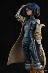 [Garage kit painting #02] Gally statue - 011 by DasArt