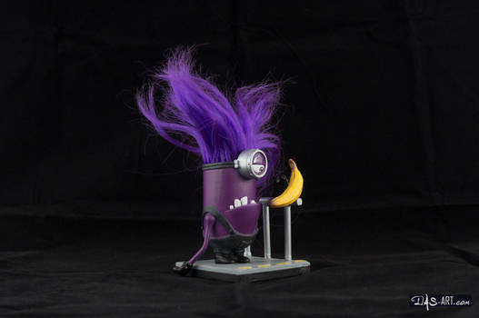 [Garage kit painting #03] Evil Minion statue - 002