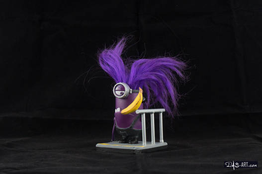 [Garage kit painting #03] Evil Minion statue - 008