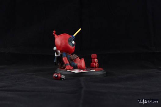 [Garage kit painting #04] Babypool statue - 007
