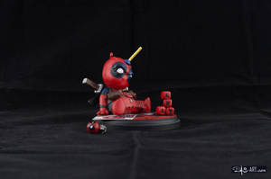 [Garage kit painting #04] Babypool statue - 008 by DasArt