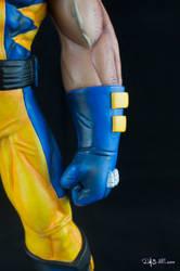 [Garage kit painting #05] Wolverine statue - 019