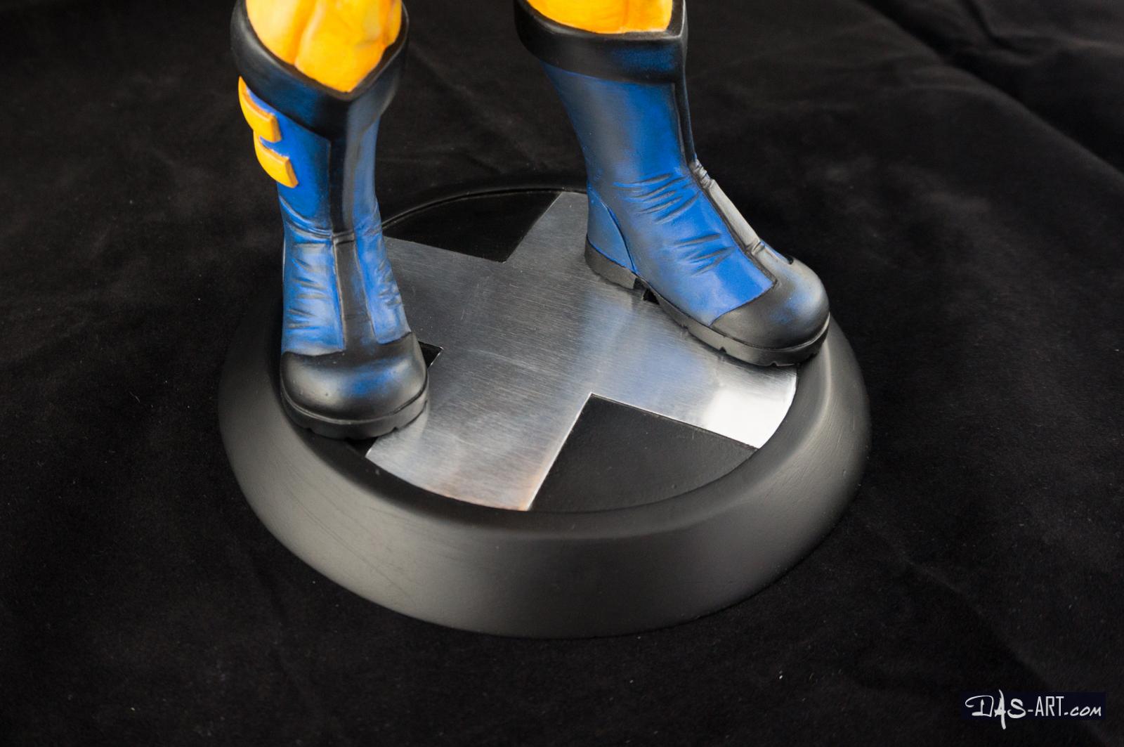 [Garage kit painting #05] Wolverine statue - 020