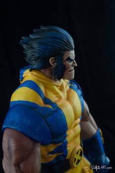 [Garage kit painting #05] Wolverine statue - 021
