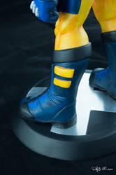 [Garage kit painting #05] Wolverine statue - 023