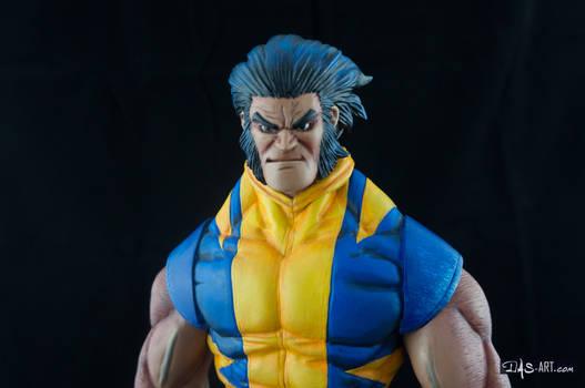 [Garage kit painting #05] Wolverine statue - 026