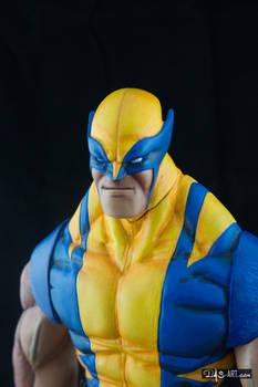 [Garage kit painting #05] Wolverine statue - 027