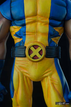 [Garage kit painting #05] Wolverine statue - 028