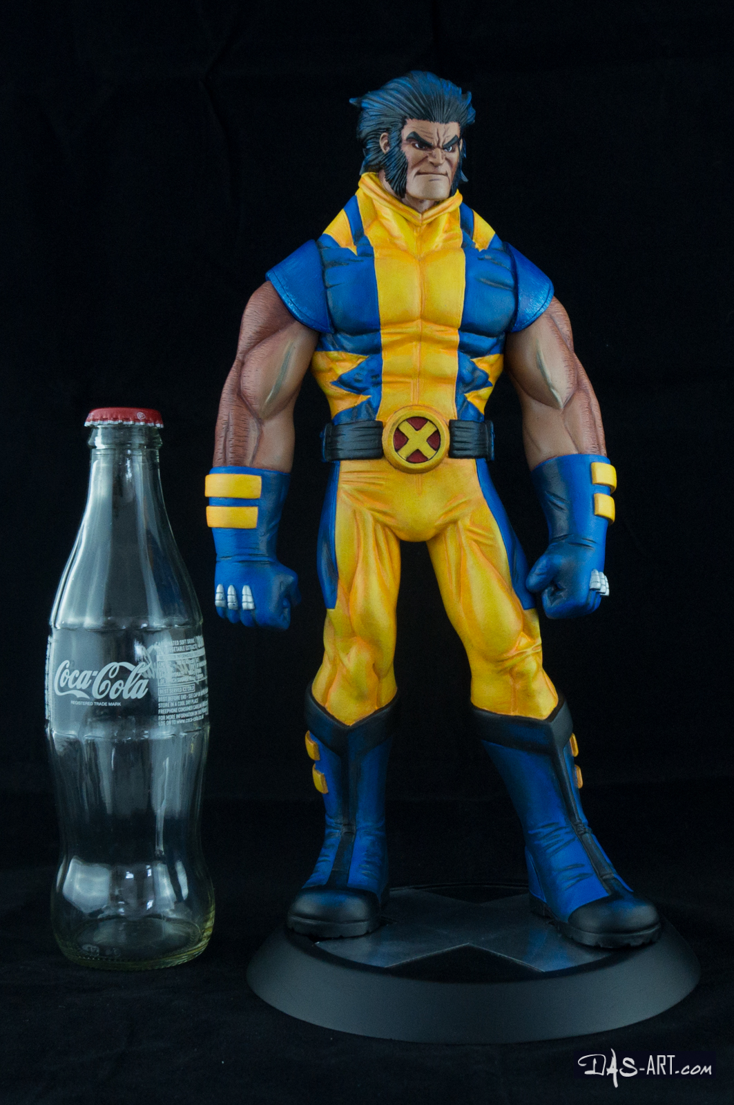 [Garage kit painting #05] Wolverine statue - 031 by DasArt