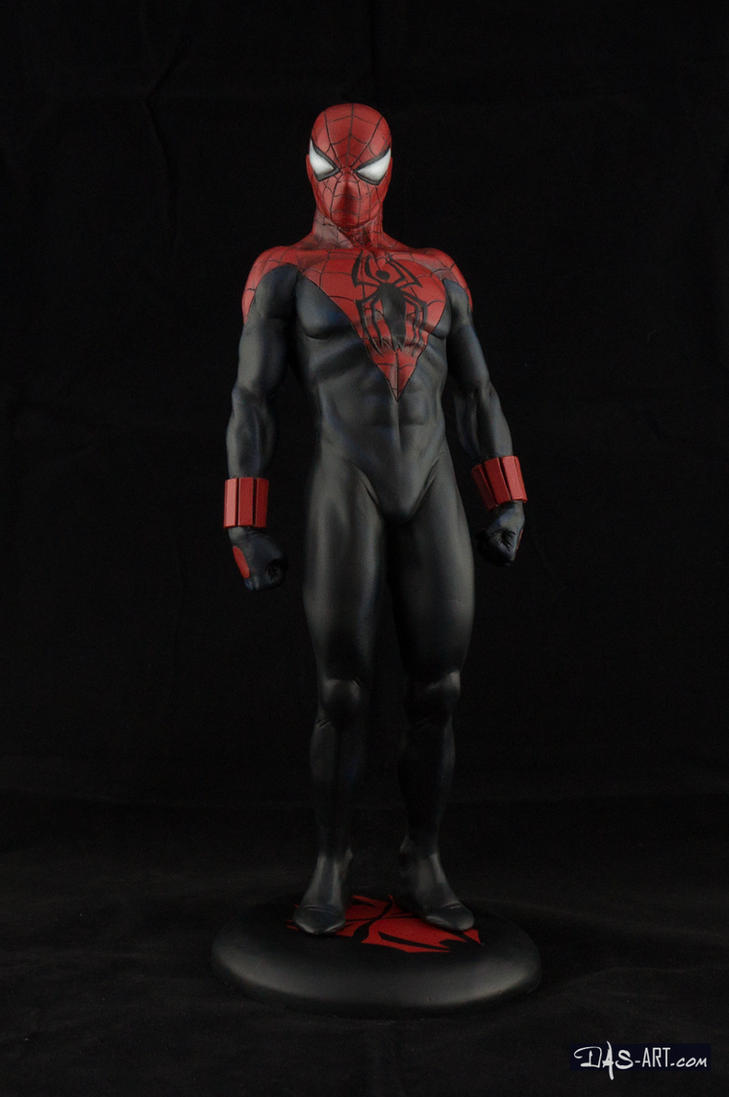 [Garage kit painting #07] Spider-Man statue - 008 by DasArt