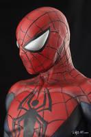[Garage kit painting #07] Spider-Man statue - 012