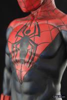 [Garage kit painting #07] Spider-Man statue - 013