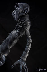 [Garage kit painting #11] Nosferatu statue - 012