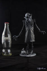 [Garage kit painting #11] Nosferatu statue - 015