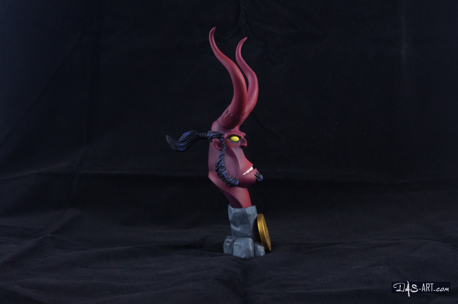 [Garage kit painting #12] Hellboy busts - 008 by DasArt