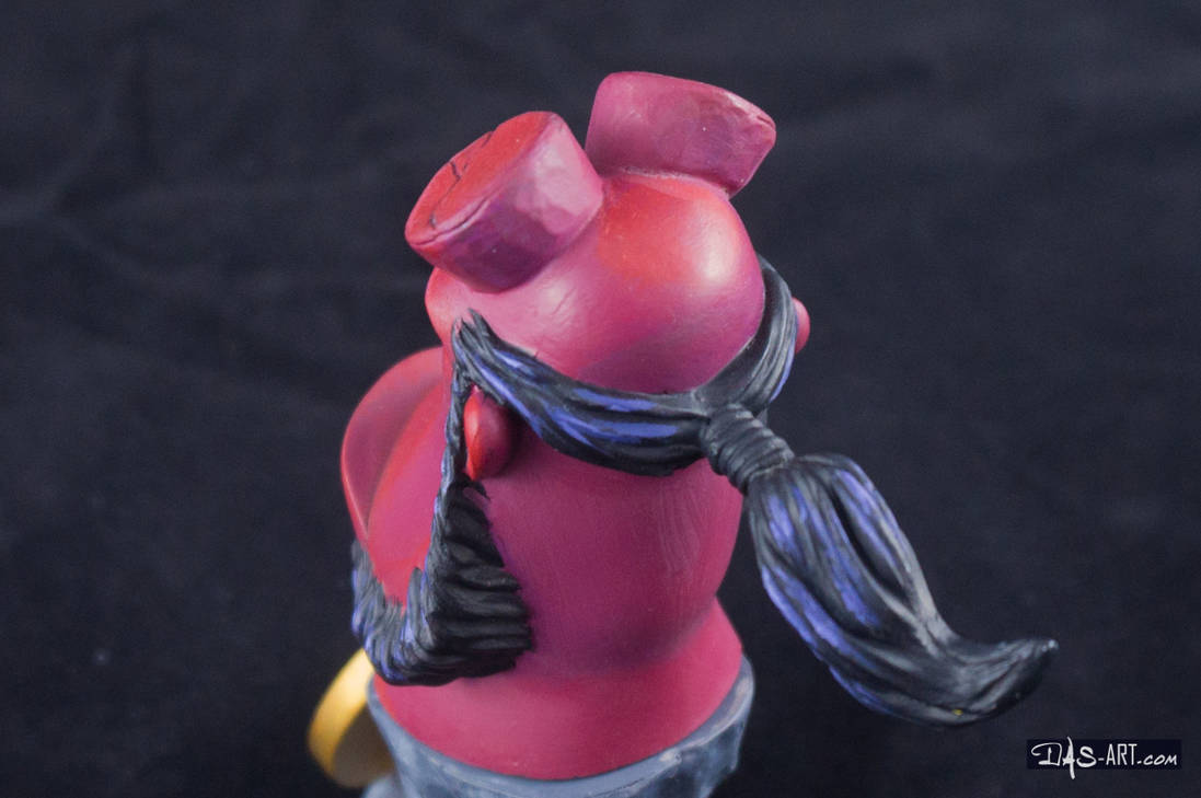 [Garage kit painting #12] Hellboy busts - 025 by DasArt