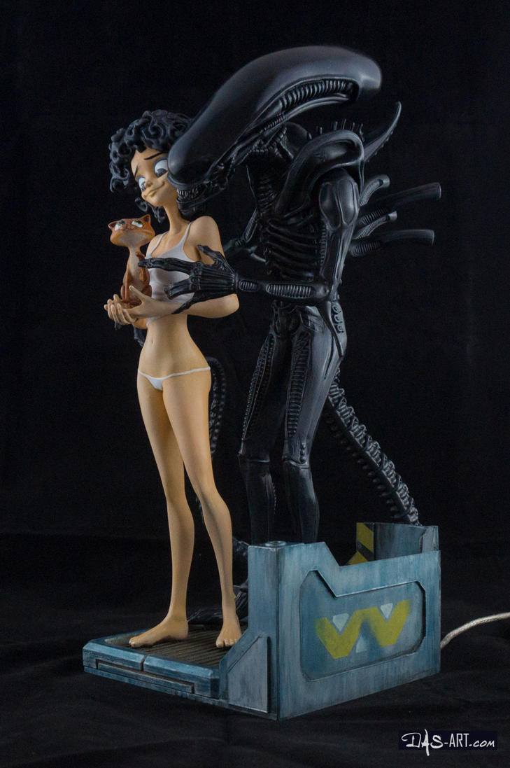 [Garage kit painting #13] Ripley and Friends - 002 by DasArt